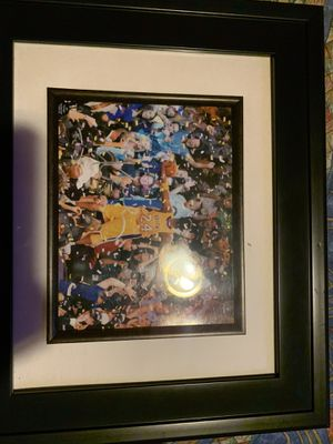 Kobe Bryant signed autograph picture framed for Sale in Lynwood, CA
