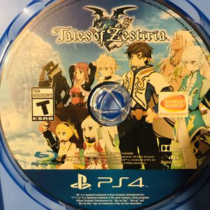 PS4 Tales of Zestria for Sale in San Diego, CA