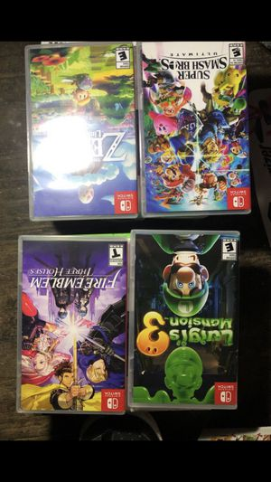 4 Brand new Nintendo switch games for Sale in Modesto, CA
