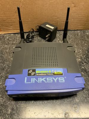 Links Wireless-G Router with 4 Port Switch for Sale in Cary, NC