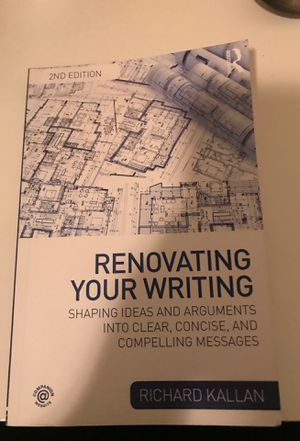 Renovating your writing - comm textbook for Sale in Pomona, CA