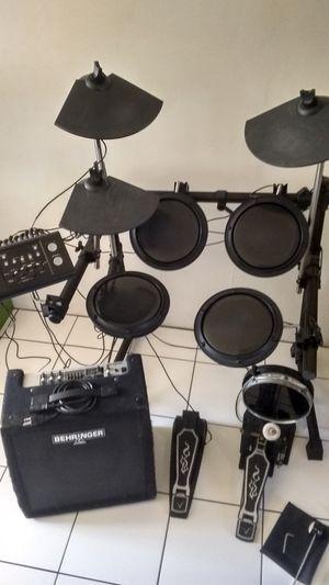 O.S.P. DD-502 mk-ll Digital Drum Kit + Behringer Ultratone K450 45-amp PA/Keyboard Amplifier for Sale in San Diego, CA