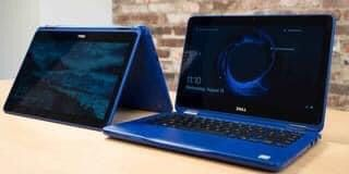 """2 in 1 11"""" dell touchscreen laptop"""