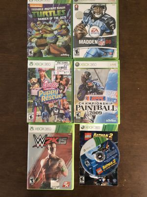 Xbox 360 games for Sale in Freehold, NJ