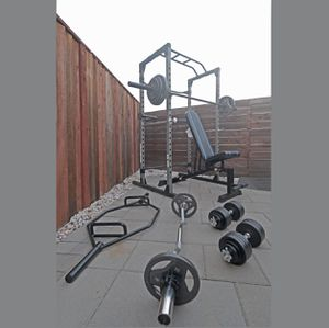 Complete Home Gym $3500 with Delivery (New In Box) for Sale in San Jose, CA