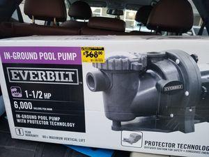 Everbilt Ground pool Pump for Sale in Denver, CO