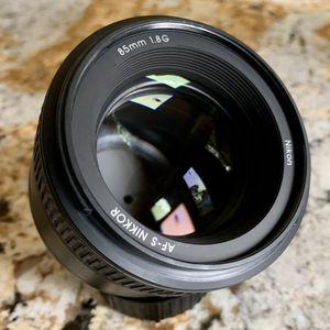 Nikon 85mm f1.8G Portrait Lens for Sale in Santa Ana, CA