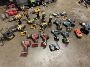 Cordless drills-impacts for Sale in Honolulu, HI