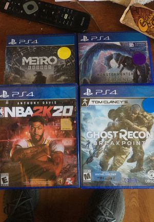 PS4 game pack for Sale in Richmond, CA