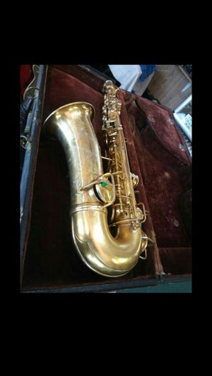 Vintage 1920's Gold plated New Wonder Artist Special G.C. Conn Alto Saxophone for Sale in Newhall, CA