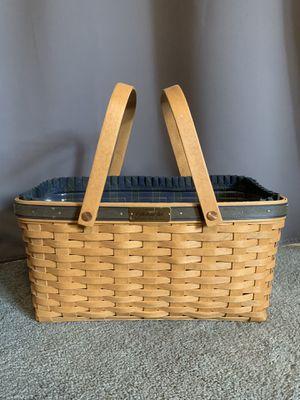 Longaberger Collector's Club Membership Basket for Sale in Enumclaw, WA