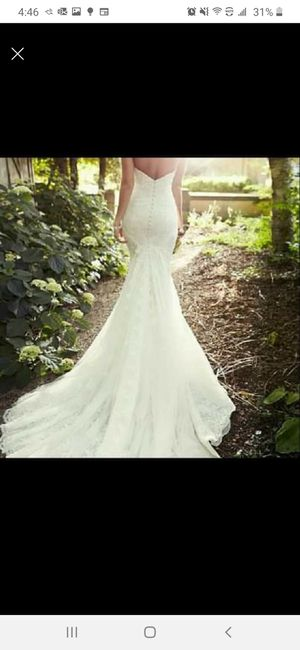 Wedding Dress Size US6 for Sale in Atlanta, GA