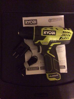 Ryobi 8volt drill for Sale in Mobile, AL