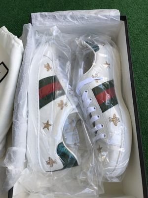 Authentic Men's Gucci Shoes Size 10.5 US (9G) Bees and Stars for Sale in San Diego, CA