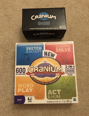 $8!!! Cranium Board Game and Cranium Dark Board Game for Sale in Irvine, CA