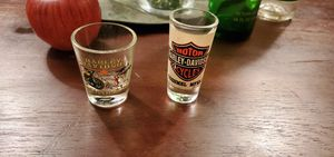 2 Harley Davidson Shot Glasses for Sale in Redford Charter Township, MI