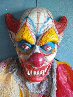 Holloween Killer Clown Life Size Horror Halloween for Sale in Orange, CA