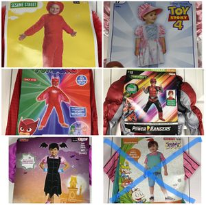 NEW Halloween Costumes Infants Kids Adults Various Sizes for Sale in Land O Lakes, FL