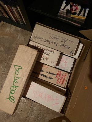 8 boxes of cards for Sale in Eldon, MO