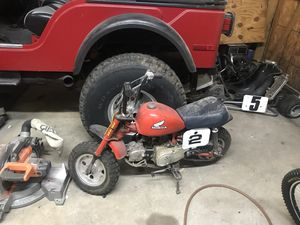 Z50 Honda 1970s has a 125cc engine with clutch for Sale in Staten Island, NY