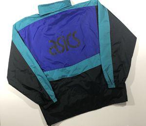 Vintage ASICS Windbreaker Jacket Size L for Sale in Richmond, VA