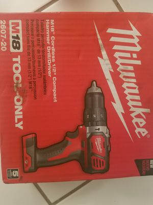 """M18 Cordless 1/2"""" Compact Hammer Drill/Driver for Sale in Coral Springs, FL"""