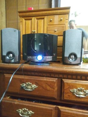 mini CD player/ stereo system...sounds great...GPX HM3817DTBLK Micro System, stereo CD player. Features in pictures for Sale in Norfolk, VA