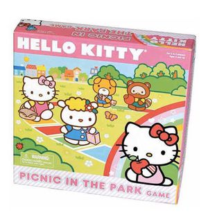 Sanrio Hello kitty Picnic In The Park Board Game Ages 3+ for Sale in Pomona, CA