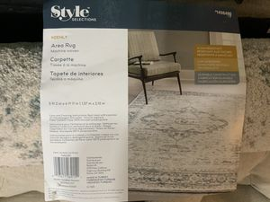 2 area rugs for sale. Not used new. See pic for specs and size for Sale in Clovis, CA