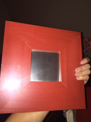 4 IKEA decorative red wooden mirrors for Sale in Pittsburgh, PA
