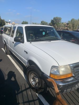 1999 FORD RANGER MANUAL TRANSMISSION. V6 3.0 no check engine 132,*** miles STRONG ENGINE FRESH TIRES 90 % NEW BATTERY CAMPER! for Sale in San Diego, CA
