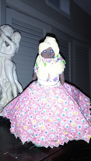 Antique Handcrafted Africana Duality Doll. for Sale in Boynton Beach, FL