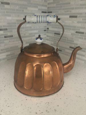 Copper kitchen tea pot for Sale in Miami, FL