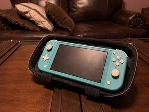 Teal Nintendo switch w/animal crossing game for Sale in Mesa, AZ