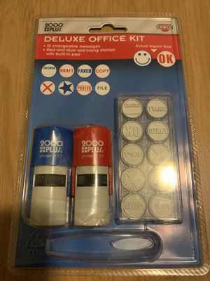 Office deluxe stamp kit for Sale in The Bronx, NY