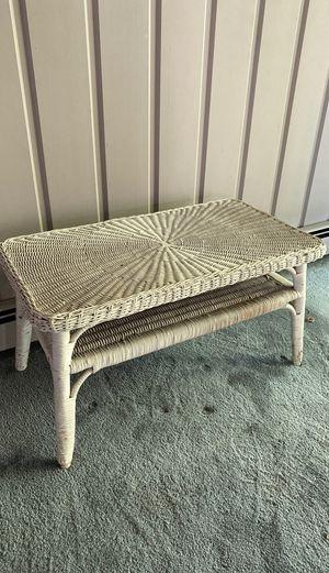 Cute wicker coffee table for Sale in Los Altos, CA