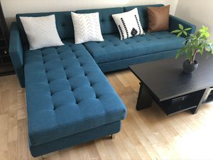CB2 Ditto II Sectional Sofa Couch for Sale in Sunnyvale, CA