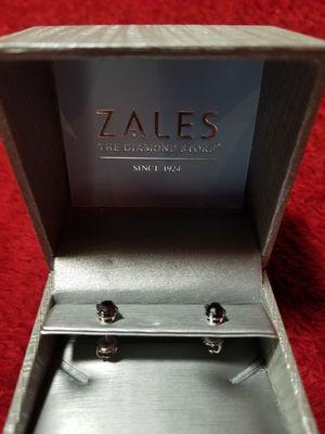 1 CT. T.W. Enhanced Black Diamond Stud Earrings in 14K White Gold for Sale in Chandler, AZ