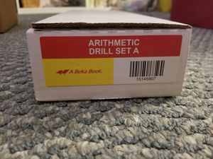 A Beka Book Arithmetic Drill Set A for Sale in Chesapeake, VA