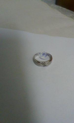 Men's 10k White Gold & Diamond Wedding Ring for Sale in Seminole, FL