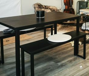 Table with Bench Seats for Sale in Portland,  OR