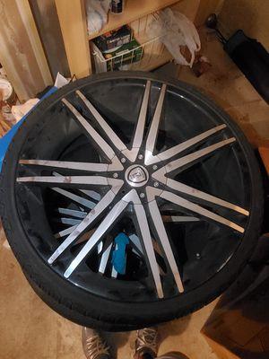 "Black B20 Machined Rims | 22"" rims | Borghini Wheels by AudioCityUSA for Sale in Kent, WA"