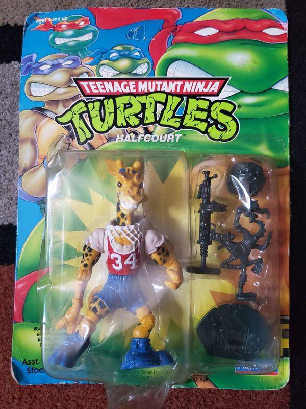 1992 TMNT Halfcourt Action Figure