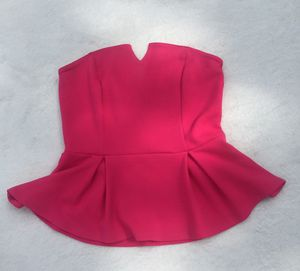Soprano Hot Pink Strapless Top for Sale in Baton Rouge, LA