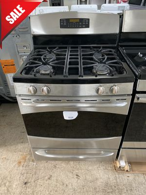 🌟🌟5 Burner Gas Stove Oven GE Stainless Steel #1023🌟🌟 for Sale in Orlando, FL