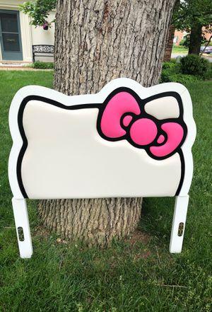 Hello kitty head board for Sale in Springfield, VA