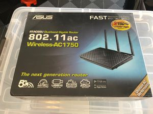 Asus ac1750 dual band wireless router for Sale in Irvine, CA