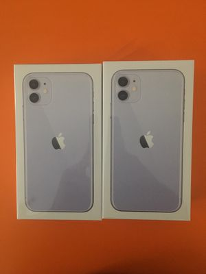 iPhone 11 BRAND NEW 64gb UNLOCKED for Sale in Boston, MA