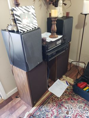 Yamaha and cerwinbega stereo system for Sale in Murfreesboro, TN
