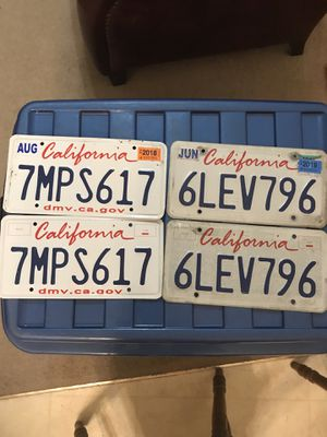 California License Plates for Sale in Murfreesboro, TN